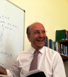 Il rettore dell'Università di Messina Pietro Navarra