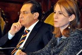 Lucia Borsellino e Rosario Crocetta