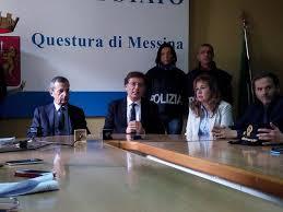 La conferenza stampa dell'operazione Matassa