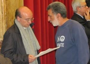 Francantonio Genovese e Renato Accorinti