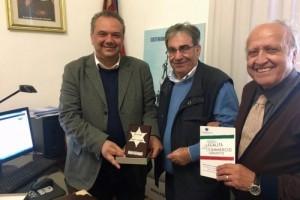 Picciotto premia l'ispettore Santagati