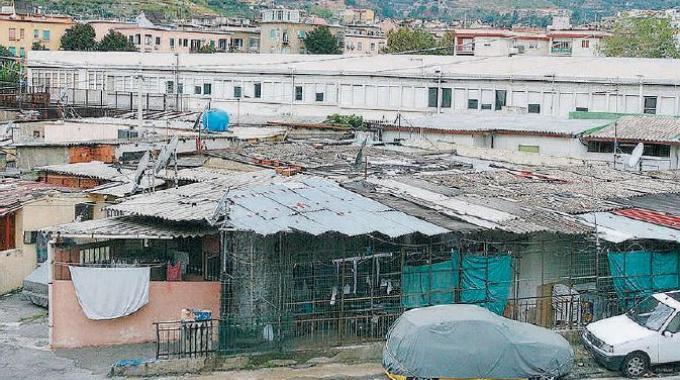 La baraccopoli di fondo Fucile