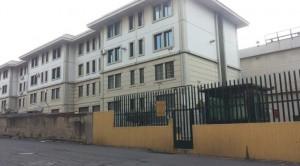 L'entrata del carcere di Gazzi