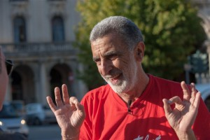 Messina, 21/10/2013: il sindaco Renato Accorinti.