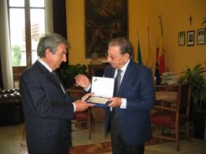 Borda Bossana premiato da Croce